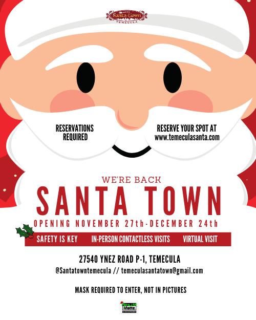 Santa Town poster